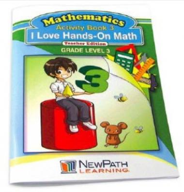 I Love Hands-On Math Workbook - Grade 3 - Print Version