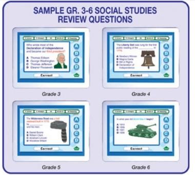 MimioVote Social Studies Question Set - Grades 1 - 6