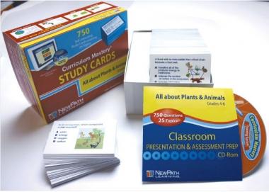 Plants & Animals - Grades 3 - 5 Study Cards