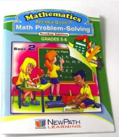 Math Problem-Solving Series Workbook- Book 2 - Grades 5 - 6 - Print Version