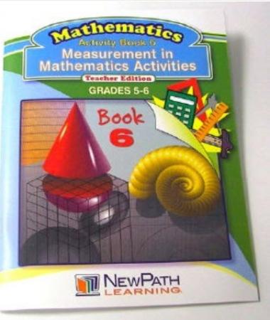 Measurement in Mathematics Activities Series Workbook - Book 6 - Grades 5 - 6 - Print Version