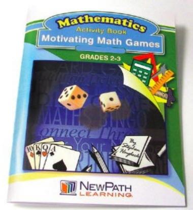 Motivating Math Games Workbook - Grades 2 - 3 - Print Version