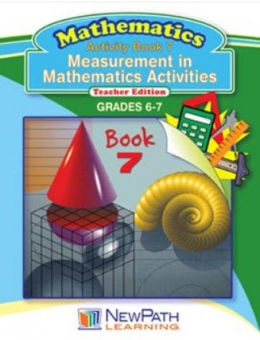 Measurement in Mathematics Activities Series - Book 7 - Grades 6 - 7 - Downloadable eBook