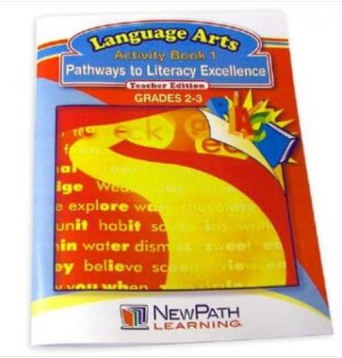 Pathways to Literacy Excellence Series Workbook - Book 1 - Grades 2 - 3 - Print Version