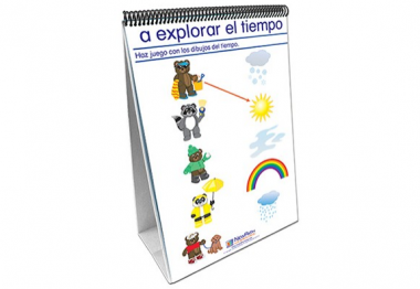 Weather & Sky Curriculum Mastery® Flip Chart Set - Early Childhood - Spanish Version