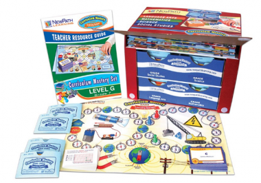 FLORIDA Grade 7 Curriculum Mastery® Set - Language Arts, Math, Science & Social Studies