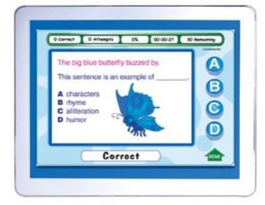 CALIFORNIA Grade 4 Language Arts Interactive Whiteboard CD-ROM - Site License