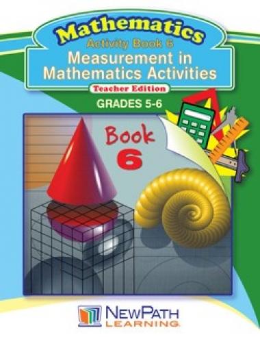 Measurement in Mathematics Activities Series - Book 6 - Grades 5 - 6 - Downloadable eBook