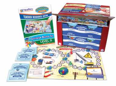 Grade 7 Curriculum Mastery® Set - Language Arts, Math, Science & Social Studies