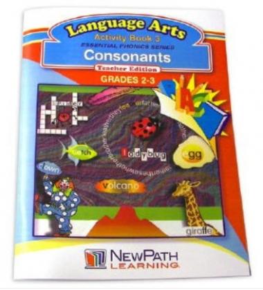 Essential Phonics Series - Consonants Workbook - Grades 2 - 3 - Print Version
