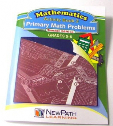 Primary Math Problems Series Workbook - Book 3 - Grades 5 - 6 - Print Version