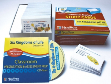 Six Kingdoms - Grades 5 - 9 Study Cards