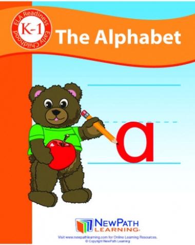 The Alphabet Student Activity Guide - Grades K-1 - Print Version