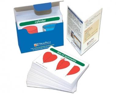 Math Vocabulary Builder Flash Card Set - Grades 1-2