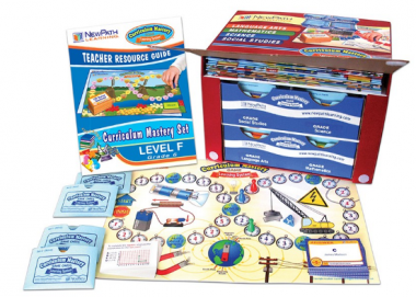 FLORIDA Grade 6 Curriculum Mastery® Set - Language Arts, Math, Science & Social Studies