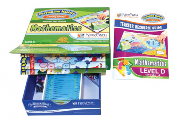 TEXAS Grade 4 Math Curriculum Mastery® Game - Class-Pack Edition