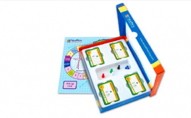 Grade 4 Math Curriculum Mastery® Game - Study-Group Edition