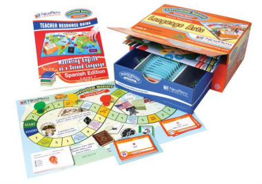 Mastering English as a Second Language Curriculum Mastery® Game - Spanish - Class-Pack Edition