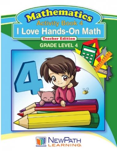 I Love Hands-On Math - Grade 4 - Downloadable eBook
