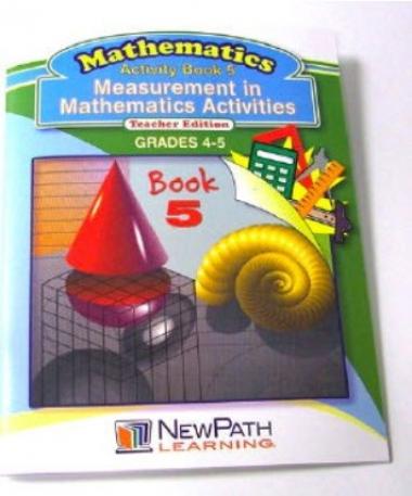 Measurement in Mathematics Activities Series Workbook - Book 5 - Grades 4 - 5 - Print Version