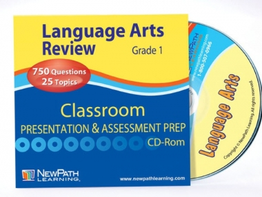 NEW YORK Grade 1 Language Arts Interactive Whiteboard CD-ROM - Site License