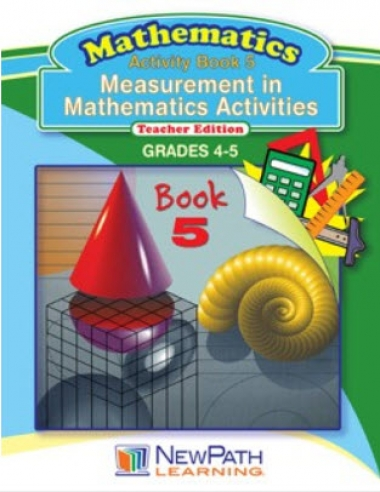 Measurement in Mathematics Activities Series - Book 5 - Grades 4 - 5 - Downloadable eBook