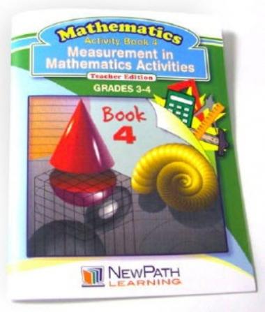 Measurement in Mathematics Activities Series Workbook - Book 4 - Grades 3 - 4 - Print Version