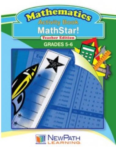 Mathstar Workbook - Grades 5 - 6 - Downloadable eBook