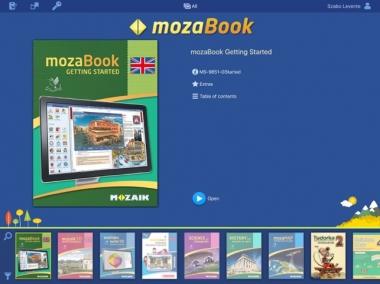Kho học liệu số 3D mozaBook