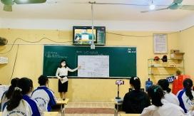 Phòng học chuyên dụng đón trò vùng dịch trở lại trường