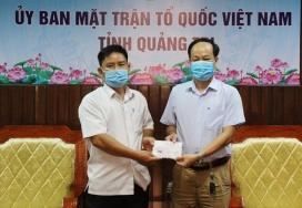 Thầy giáo trường làng dành toàn bộ tiền thưởng cho quỹ phòng chống COVID-19