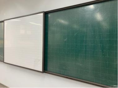 Hệ bảng trượt ngang 2 lớp liền khối