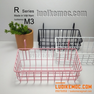 Rổ Treo Lưới M3 Hồng
